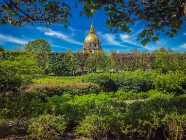 Les Invalides from the Rodin Museum