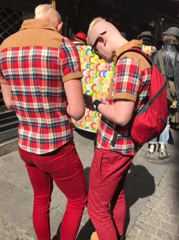 So embarrassing when a friend shows up in the same outfit!