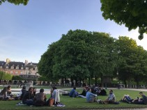 Place des Vosges - near Victor Hugo's home