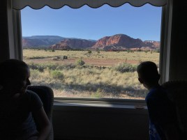View from the cabin - Torrey, UT