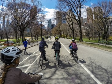 Bike tour of Central Park