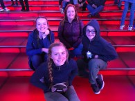 Times Square red steps