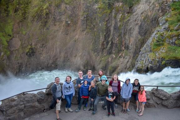 At Yellowstone Falls