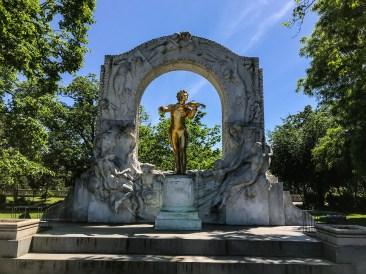 Johann Strauss monument - Vienna