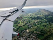 Over Switzerland, I think - or maybe Germany