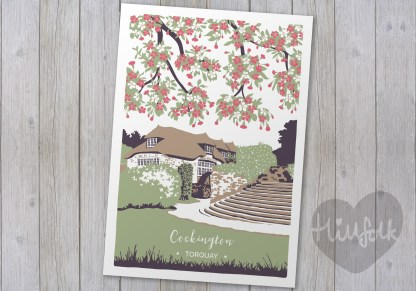 cockington mill print