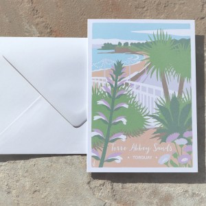 torre abbey sands card