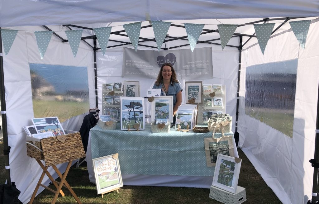 hillfolk craft stall
