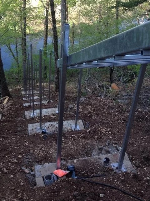 Manufacturing Amp Installation Process Hill Hiker Inc