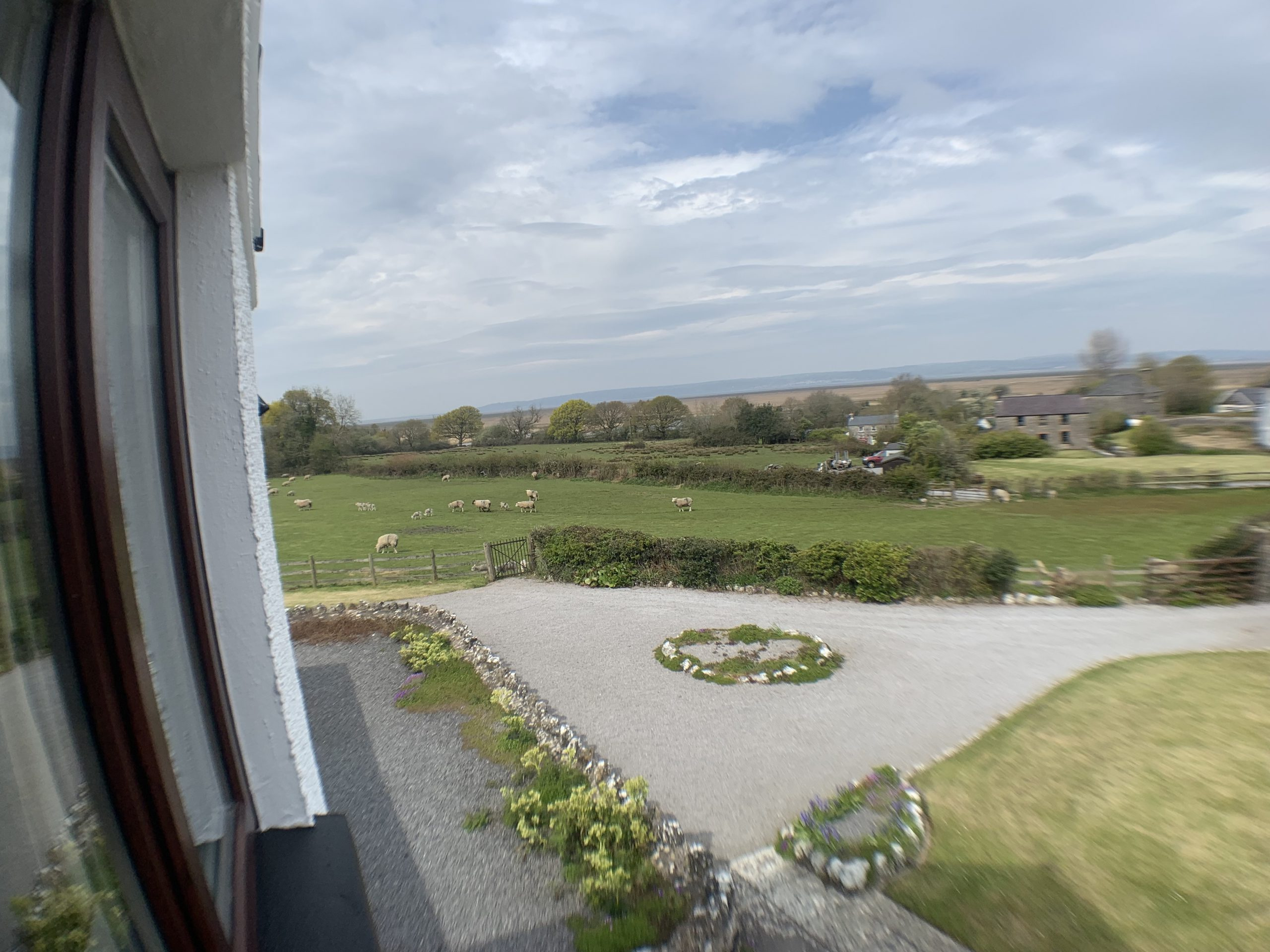 Gower Self Catering Holiday Cottage bedroom 1 view
