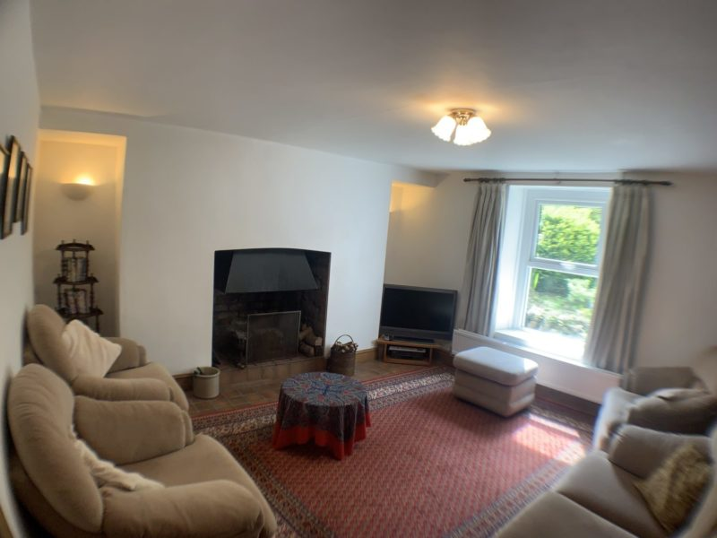 Gower Self Catering Holiday Cottage Sittig room 1