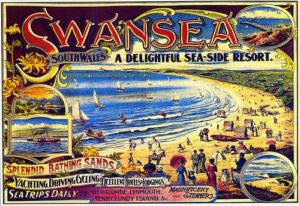 Swansea Bay Tourism Poster