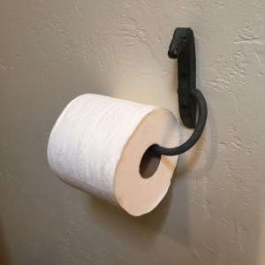 horse head toilet paper holder