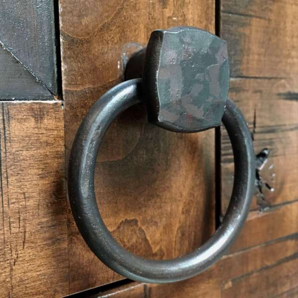 Square Knob Finger Ring
