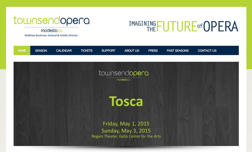 Townsend Opera Website