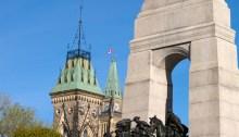 The National War Memorial, Parliament grounds, Ottawa, Ontario, Canada