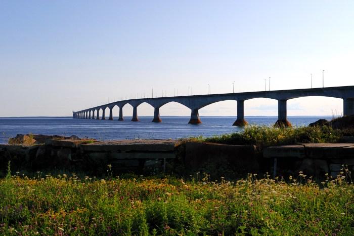 The Confederation Bridge, linking Prince Edward Island to the mainland. Photo: Thinkstock.com