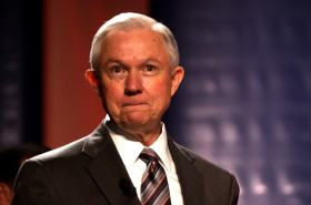 Jeff Sessions Says Lock Her Up