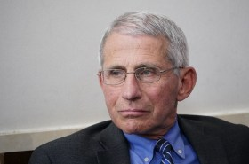 dr anthony fauci says it's not time to ease too much