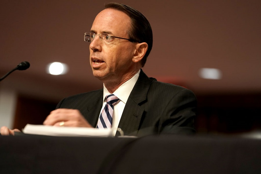 Rod Rosenstein says Russia is no hoax