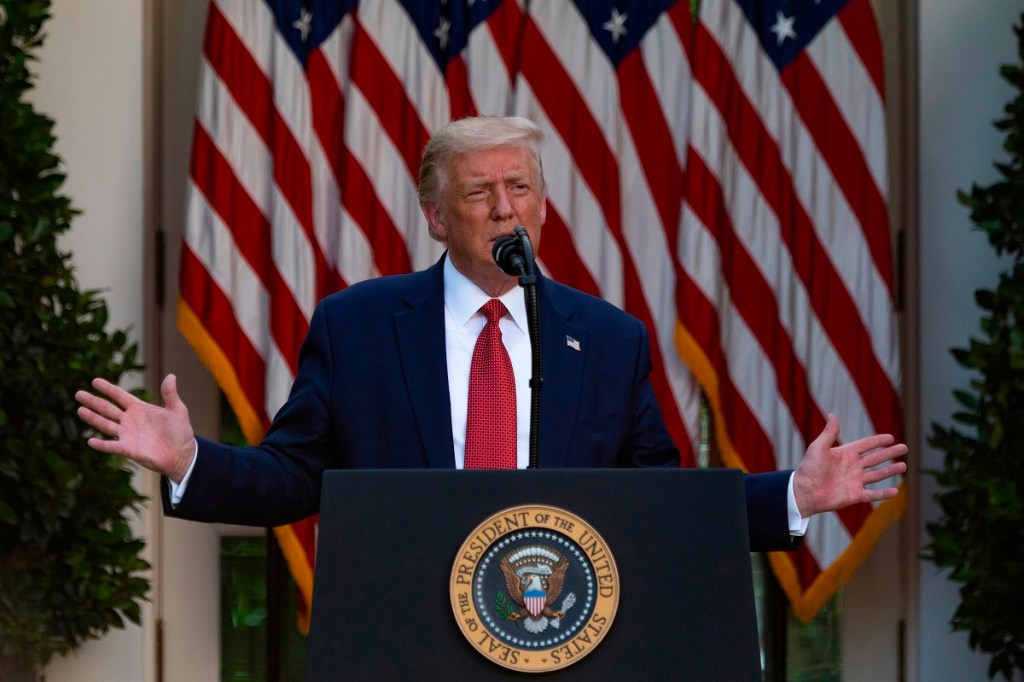 Trump will continue holding covid rally briefings