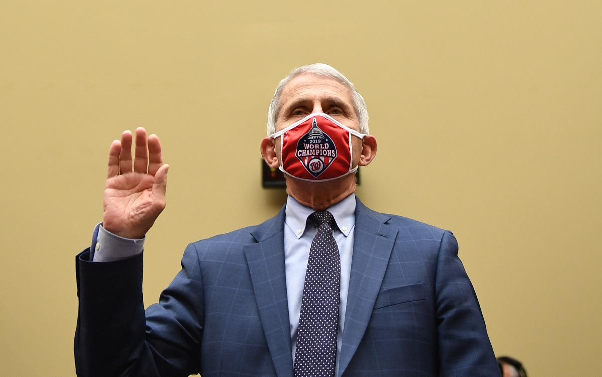 Dr. Anthony Fauci debunks one Trump claim after another