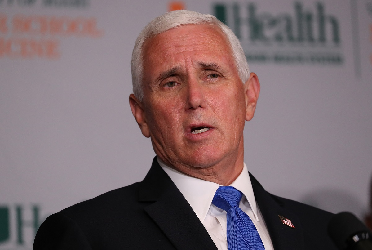 Mike Pence says a vaccine could be available by fall