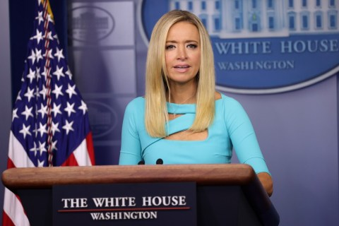 Kayleigh McEnany says Donald Trump behavior is actually about Joe Biden