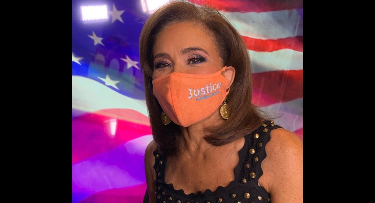 Judge Jeanine attacked for mask wearing