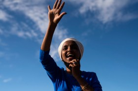 F around and find out, Ilhan Omar tells Trump