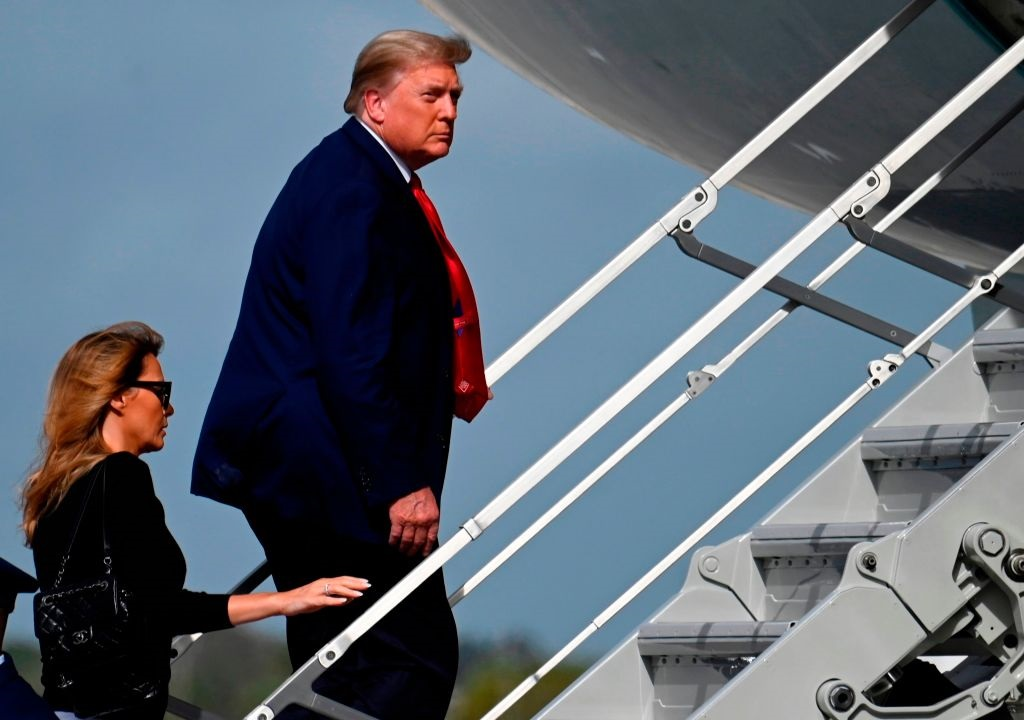 Donald Trump heads back to DC early after GOP won't cooperate with his demands