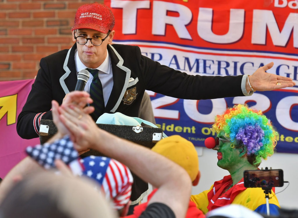 Milo Yiannopoulos says Trump ruined lives, accomplished nothing