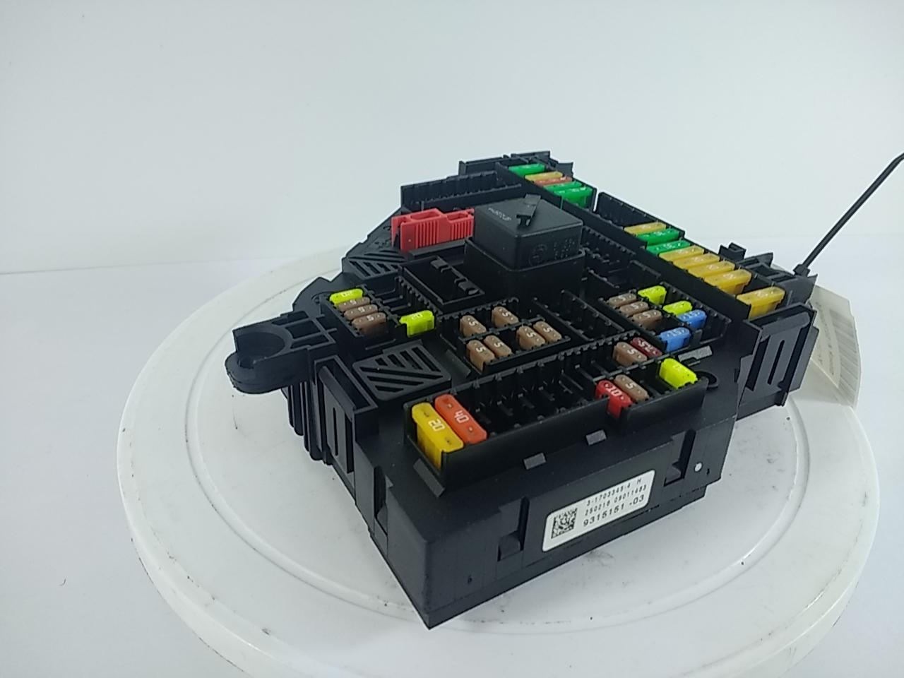 hight resolution of product description rear fuse box 9315151