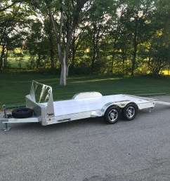 car hauler aluminum open introducing hillsboro industries aluminum utility trailer [ 4032 x 3024 Pixel ]