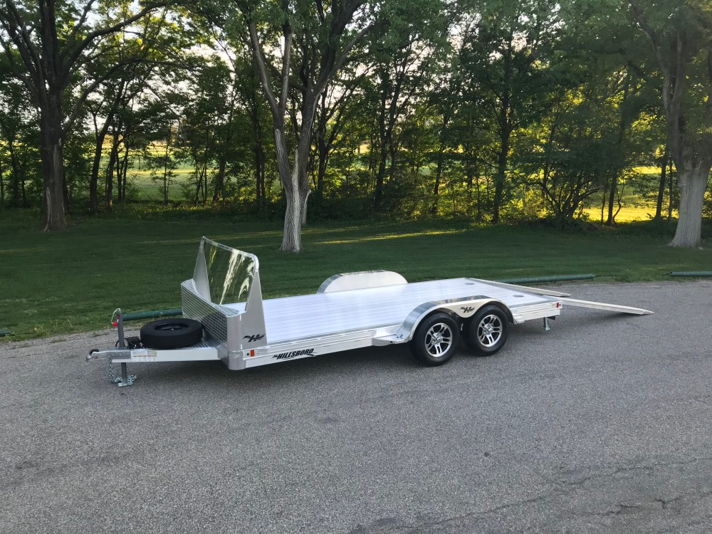 medium resolution of car hauler aluminum open introducing hillsboro industries aluminum utility trailer