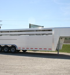 hillsboro industries endura aluminum livestock trailer optional 3 axle [ 3456 x 2304 Pixel ]