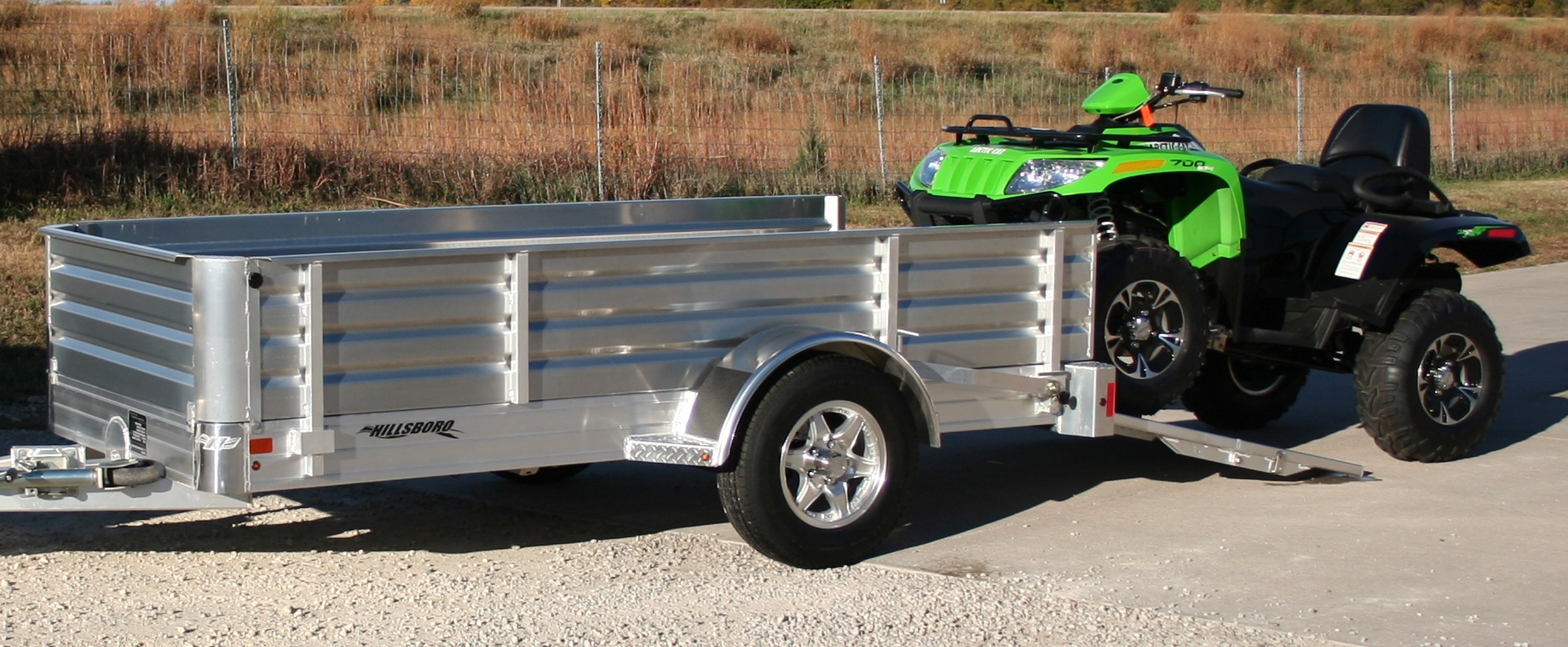 hight resolution of aluminum utility trailer