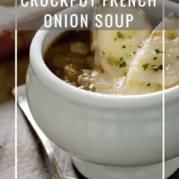 CrockPot French Onion Soup (For Canning)