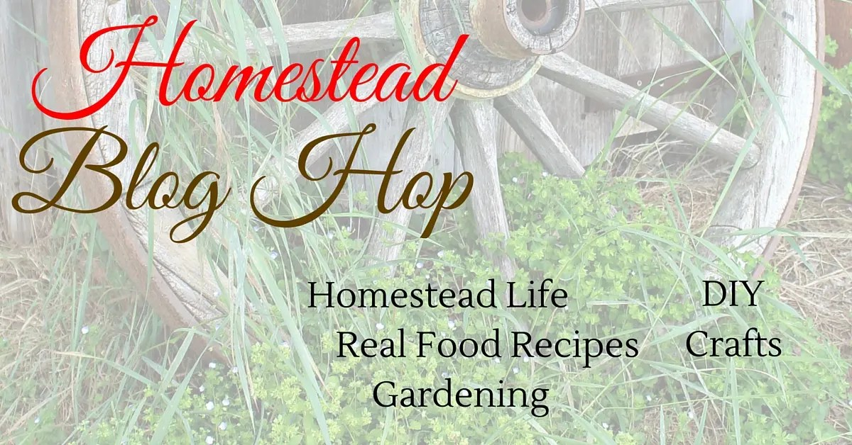 Homestead Blog Hop 126