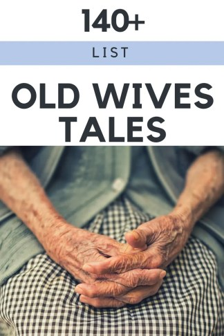 a list of old wives tales and folklore from around the world