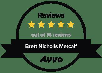 Avvo 5 star review logo