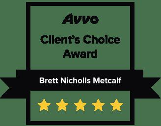 Avvo client's choice award logo