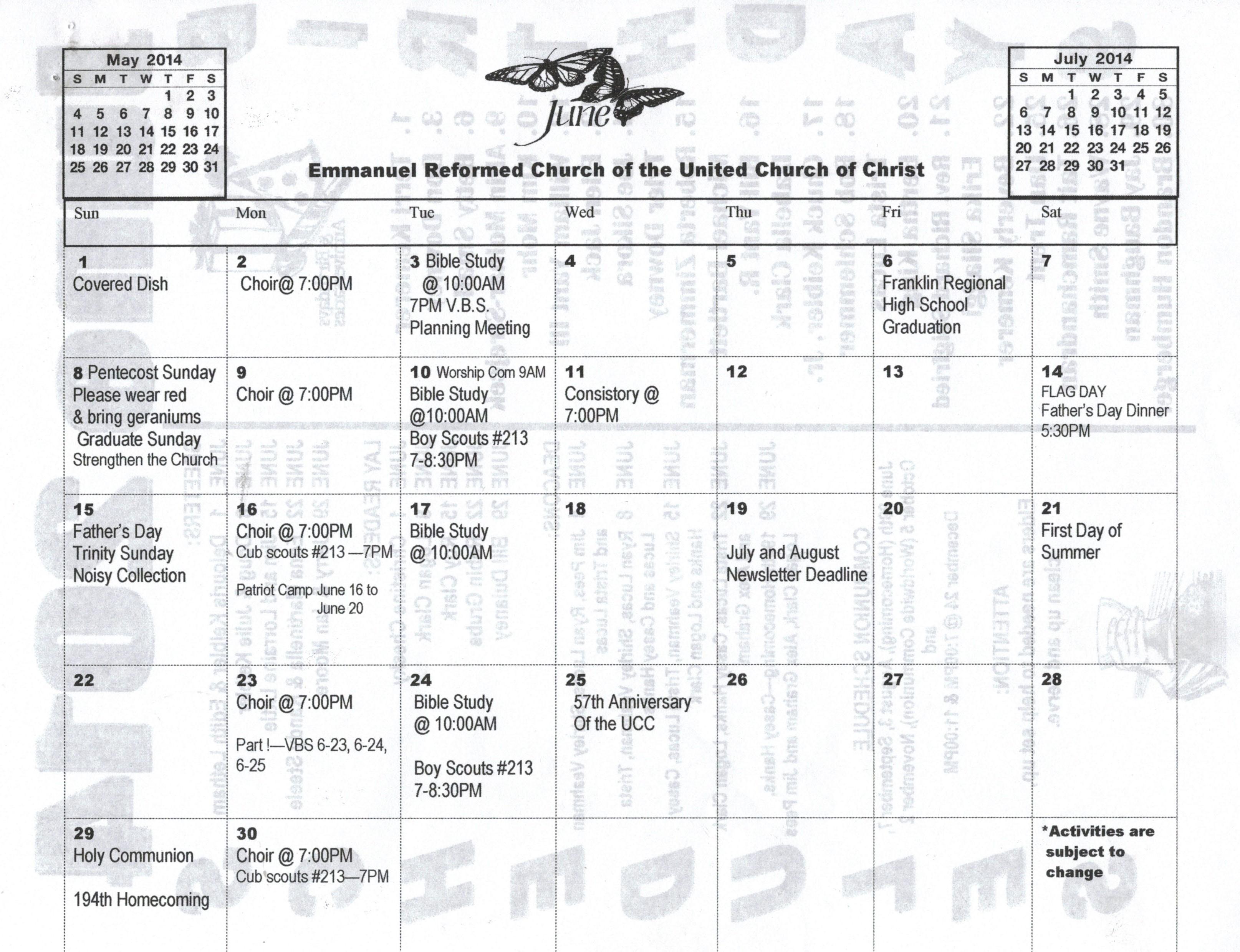 Emmanuel Reformed Church of the United Church of Christ