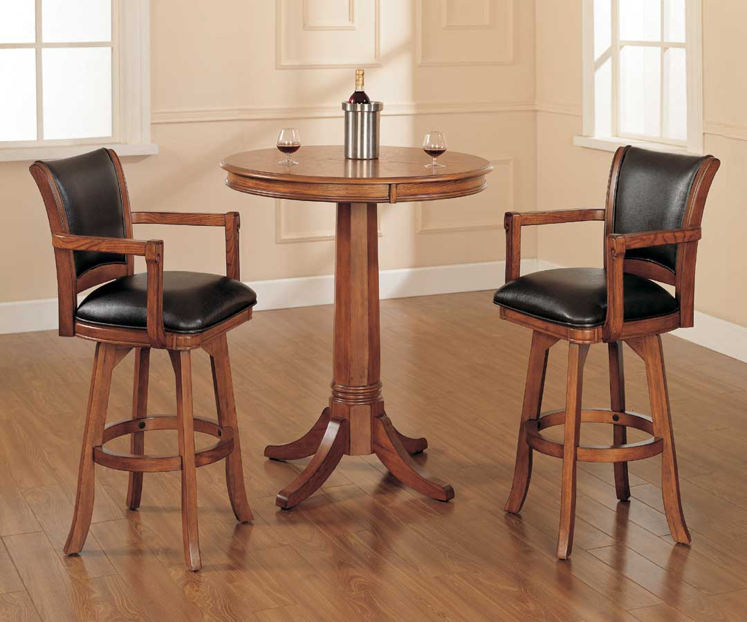 Indoor Bistro Table Chairs Hillsdale Park View Bistro Table Set 4186ptbs