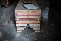 The bench is almost the last piece we produced during our residence...