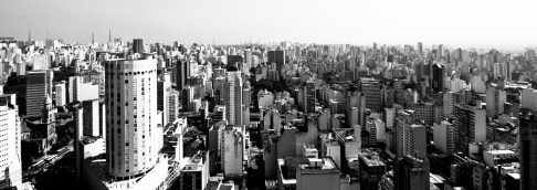 View on the ocean of buildings... from the Edificio Italia (built from 1956 to 1965)