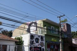 typical street view in Vila Madalena