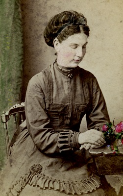 Elvina Durham nee Richards (1854-1931) daughter of Benjamin Richards who established the Riverstone Meatworks. (Hawkesbury Library Service)
