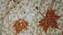 Detail of Garino mosaic