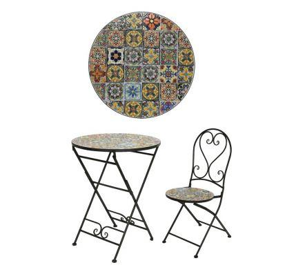 keamingk braga mosaic bistro set